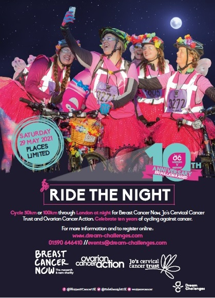 Ride the Night 2021 Info pack